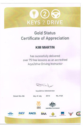 KTD Gold Accreditation